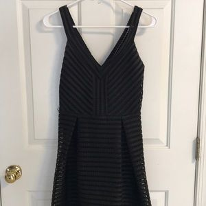 Express Size 6 black dress
